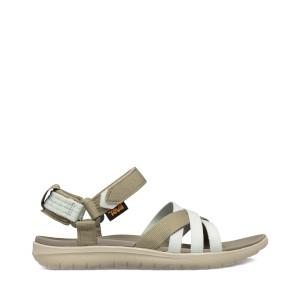 Teva W Sanborn Sandal Burnt Olive/Sea