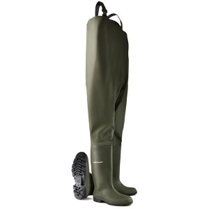 Dunlop Dunlop Chest Waders Green