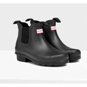 Hunter Original Kids Chelsea Boots Bla