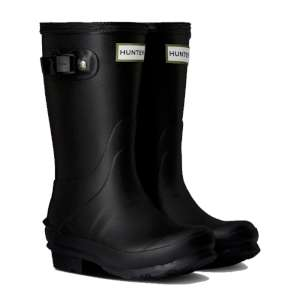 Hunter Kids Norris Boot Black