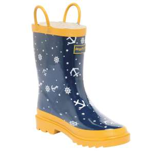 Regatta Minnow Junior Welly Navy/Old G