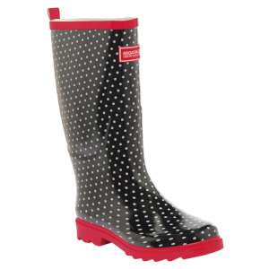 Regatta Lady Fairweather Welly Black/L