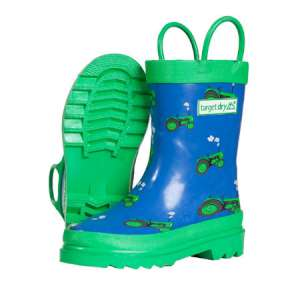 Target Dry Boys Tractor Wellington Boot