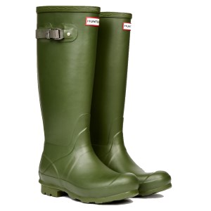 Hunter Field Leather Lined Boot Vintag