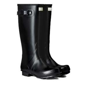Hunter Mens Norris Field Wellies Black
