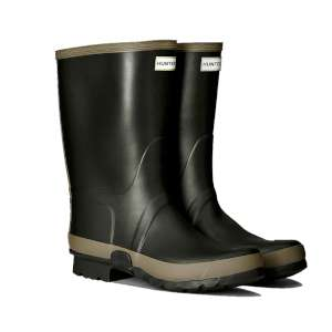 Hunter Hunter Gardner Boot Dark Olive