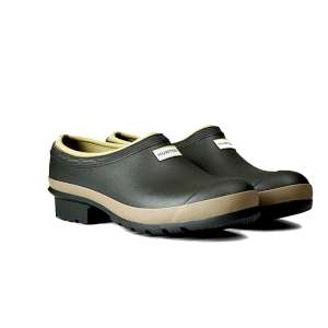 Hunter Men's Gardener Clog Dark Olive/