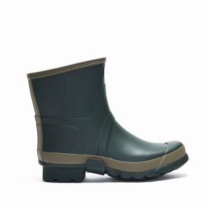 Hunter M Gardener Short Boot Dark Oliv