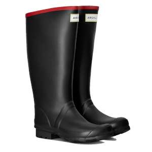 Hunter Argyll Full Knee Neoprene Black