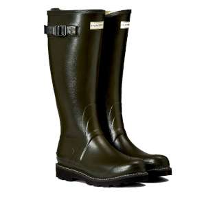 Hunter Women's Balmoral Boots Dark Oli