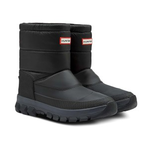 Hunter Original Short Snow Boots Black