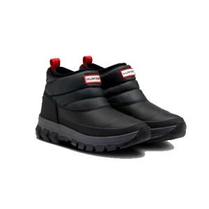 Hunter W Original Ankle Snow Boot Blac