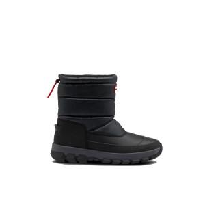Hunter Original Short Snow Boot Black
