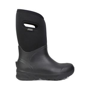 Bogs Bozeman Tall Wellington Boot Blac