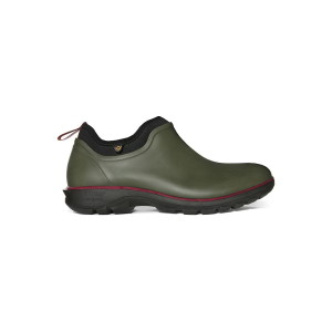 Bogs Sauvie Slip On Shoe Dark Green