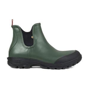 Bogs Sauvie Slip On Boot Dark Green