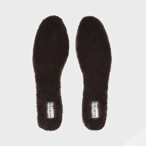 Hunter Luxury Shearling Insoles Bitter