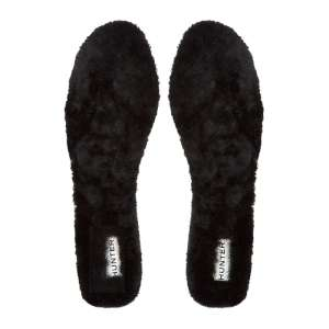 Hunter Luxury Shearling Insoles Black