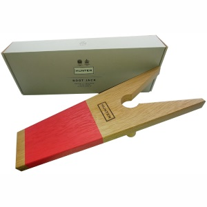 Hunter Hunter Wooden Boot Jack Red