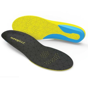 Superfeet Flexthin Grey/Yellow