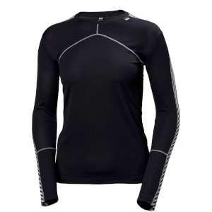 Helly Hansen Womens Lifa Crew Graphite