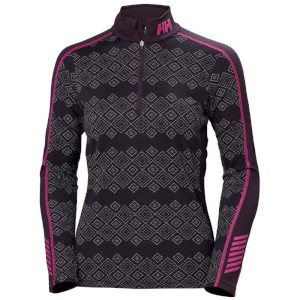 W HH Lifa Active Graphic 1/2 Zip Night