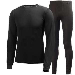 Helly Hansen Lifa Twin Pack Black