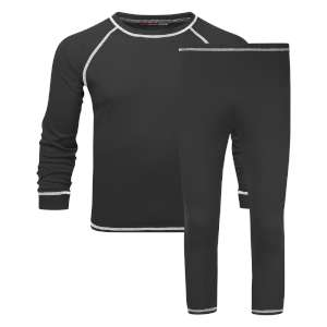 Manbi Kids Supatherm Baselayer Set Bla
