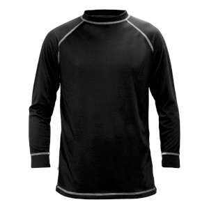 Manbi Supatherm Long Sleeve Top Black