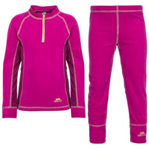 Trespass Girls Bubbles Base Layer Set