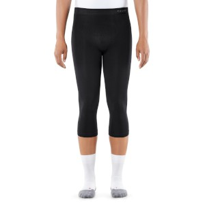 Falke Men 3/4 Tights Maximum Warm Blac