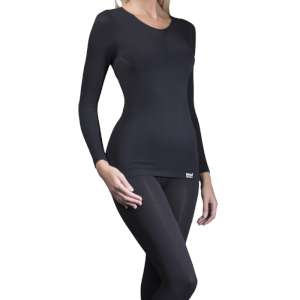 Heat Holders Women's Thermal Top Black