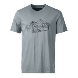 Berghaus Branded Mountain Tee Grey Mar
