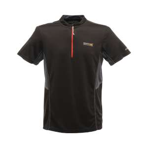 Regatta Mens Breakbar Tech Tee Black/S