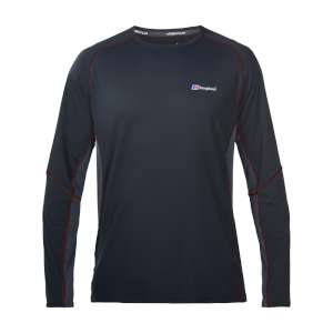 Berghaus Tech T LS Crew Neck Black/Car