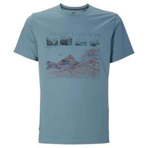 Jack Wolfskin Mossburn OC T-Shirt Blue