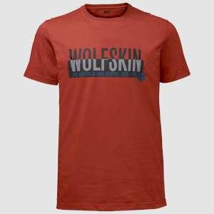 Jack Wolfskin Slogan T Shirt Mexican P