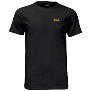 Jack Wolfskin Essential T Men Black