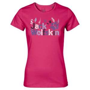 Jack Wolfskin Womens Brand TShirt Trop