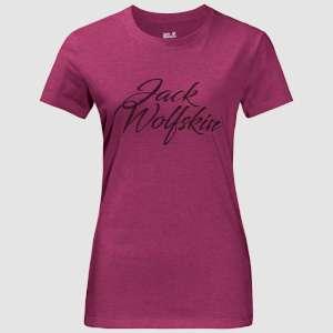Jack Wolfskin Womens Brand T Amethyst