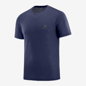Salomon Explore SS Tee M Night Sky