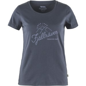 FjallRaven W Sunrise T-Shirt Navy