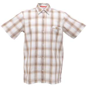 Regatta Breezeway SS Shirt Brown Check