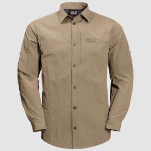 Jack Wolfskin Lakeside Roll-Up Shirt S