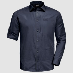 Jack Wolfskin Lakeside Roll-Up Shirt N