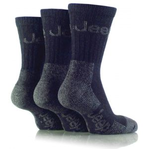 Pk3 Jeep Luxury Boot Socks Navy