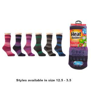 Heat Holders Kids Slipper Socks Assort