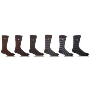 Heat Holders Stripe Socks Assorted