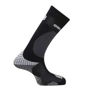 Salomon X Max2 Jr Ski Socks Black/Whit