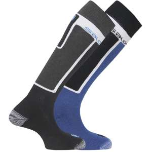 Salomon Mens Elios Skit Socks 2 Pack B